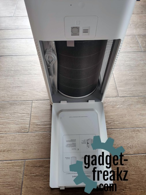 Xiaomi Air Purifier 3H Back fillter compartment
