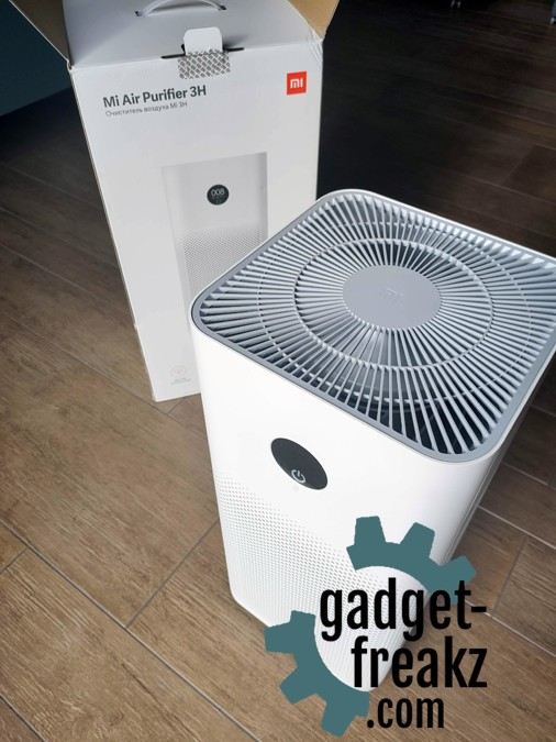 Xiaomi Air Purifier 3H unpacked