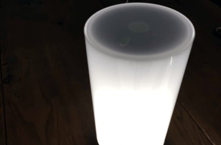 Xiaomi Mijia MJCTD01YL Yeelight Bedside Lamp On White