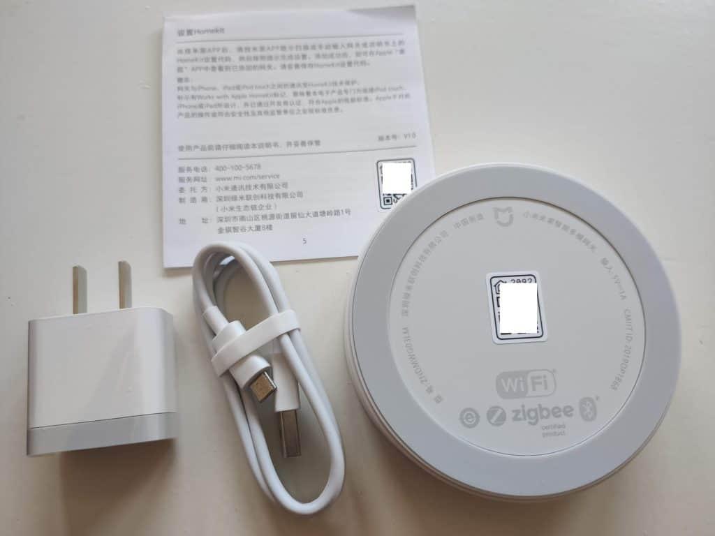 Xiaomi Mijia Smart Multi Mode Gateway 3 ZNDMWG03LM Zigbee 3 and BLE bottom