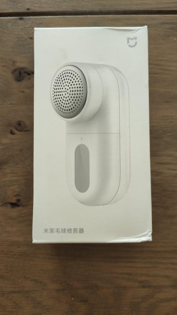 Xiaomi Mijia lint remover box front