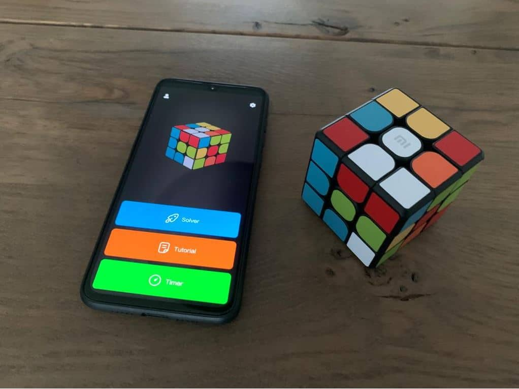 Xiaomi Rubiks Cube App Connected