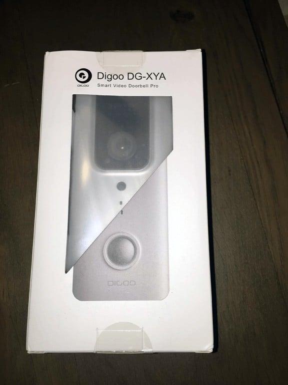 digoo dg-xya video doorbell box front