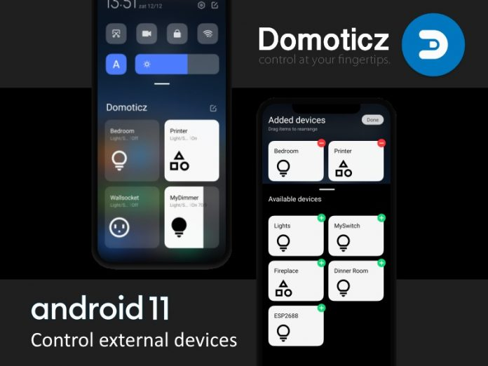 Domoticz App Android 11