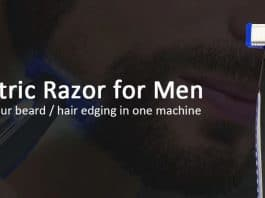 electric razor for men