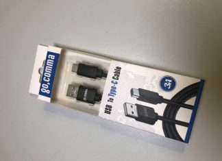 goComma USB A to Type C Cable Package