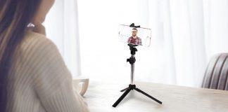 gocomma 3 in 1 selfie stick monopod